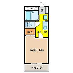 Y'sY[2階]の間取り