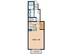 コンフォートレジデンス[2階]の間取り