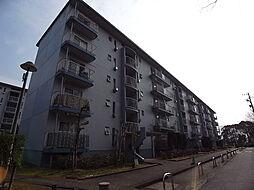 UR賃貸6棟[4階]の外観