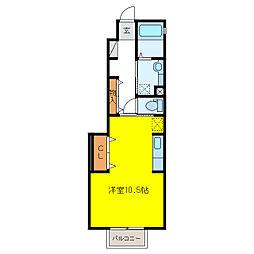 仮)D-room各務原市蘇原吉新町[1階]の間取り