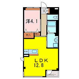 仮)S・M様賃貸マンション[3階]の間取り