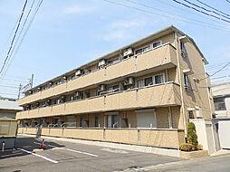 茨城県古河市東1丁目の賃貸アパートの外観