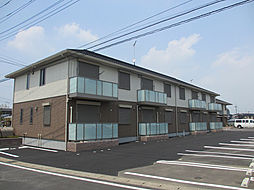 茨城県古河市西牛谷の賃貸アパートの外観