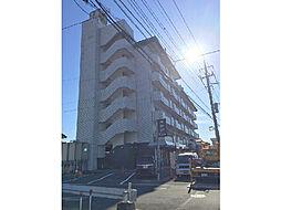 茨城県下妻市小島の賃貸マンションの外観