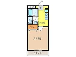 エマーブル[2階]の間取り