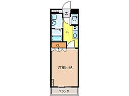 メゾン ドゥ ティアレ[1階]の間取り