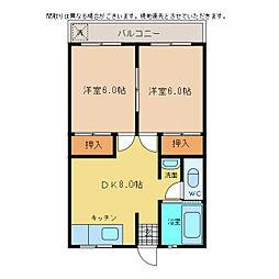 SEGURA山城[35号室]の間取り