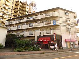 埼玉県東松山市箭弓町3丁目の賃貸マンションの外観