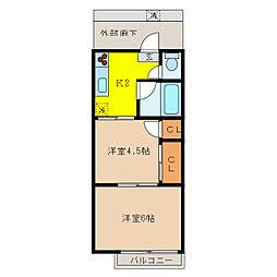 東毛呂駅 3.5万円