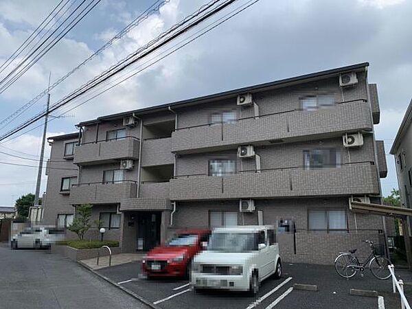 埼玉県入間郡毛呂山町大字岩井の賃貸マンションの外観