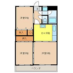 武藤ビル[2階]の間取り