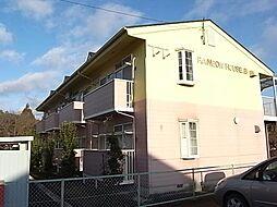 レインボーハウスB[1階]の外観