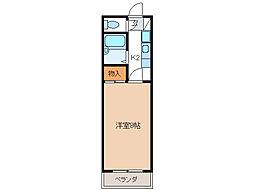 第5ハイツタマキ[305号室]の間取り