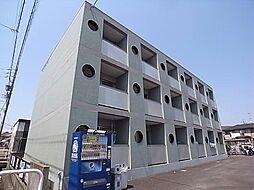 岐阜県岐阜市下鵜飼の賃貸マンションの外観
