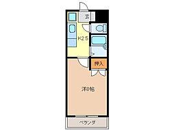 レスポワール中野 北・南棟[3階]の間取り