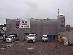 長良S様2期新築アパート[1階]の外観