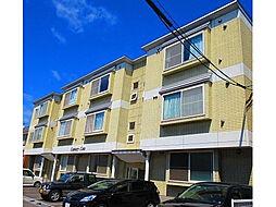 北海道函館市亀田本町の賃貸アパートの外観
