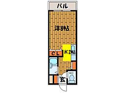 北海道函館市大手町の賃貸マンションの間取り