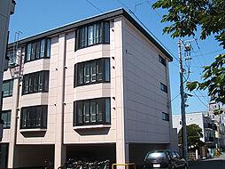 北海道函館市人見町の賃貸アパートの外観