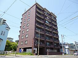 北海道函館市大町の賃貸マンションの外観