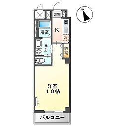 JR内房線 五井駅 バス6分 飛天坂停下車 徒歩4分の賃貸アパート 1階1Kの間取り