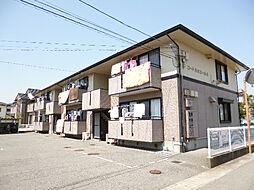 徳島県徳島市八万町橋本の賃貸アパートの外観