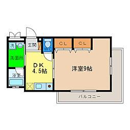 マンションアドレ[2階]の間取り