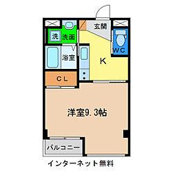 キアーズII[6階]の間取り