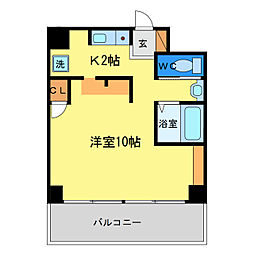 FACEビル[4階]の間取り