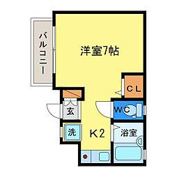 フルハウス[3階]の間取り