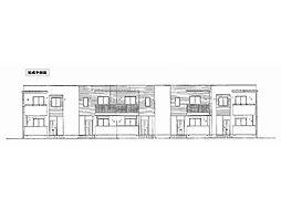 ガーデニア・C[2階]の外観