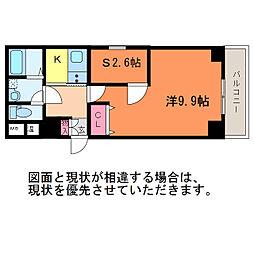 ショゼ関南町[3階]の間取り