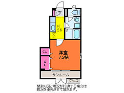 メリオル[1階]の間取り
