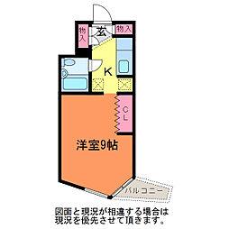 ビラ・プリンス(205)[2階]の間取り