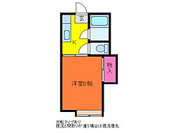 第七西山荘[2階]の間取り