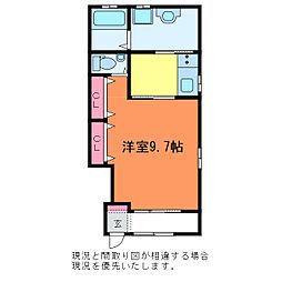 天神2丁目 新築AP[1階]の間取り