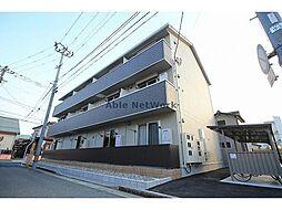 新潟県新潟市中央区明石2丁目の賃貸アパートの外観