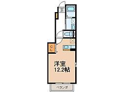 ラゴーア・アネシスI[1階]の間取り