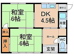 [一戸建] 愛知県小牧市間々本町 の賃貸【/】の間取り