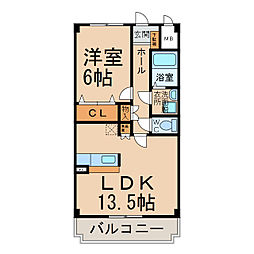 メゾン・ド・オーブII[3階]の間取り