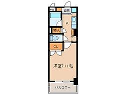 第2さくらマンション[7階]の間取り
