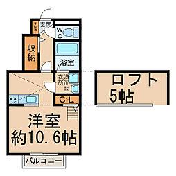フォレスタ[1階]の間取り