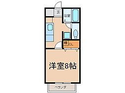 サン・friends舟津[2階]の間取り