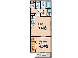 ルポゼ[2階]の間取り