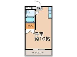 第二横井マンション[2階]の間取り
