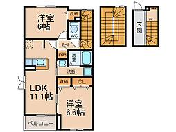 グレーシア光II[3階]の間取り
