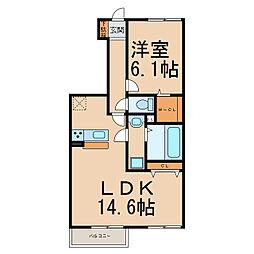 仮)D−room間々本町小田様[1階]の間取り