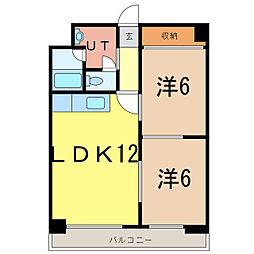 7条レジデンス[5階]の間取り