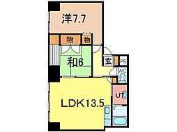 エンドレス17 A棟[5階]の間取り