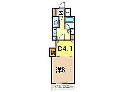 朝日プラザ旭川5条通[4階]の間取り